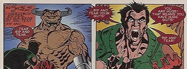 Doom-Comic-Rip-and-tear